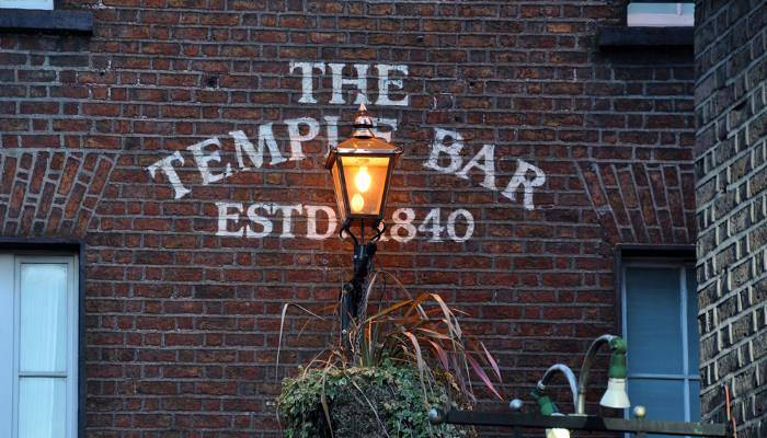 picture of Temple Bar in London