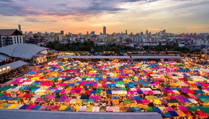 picture of the Chatuchak Market
