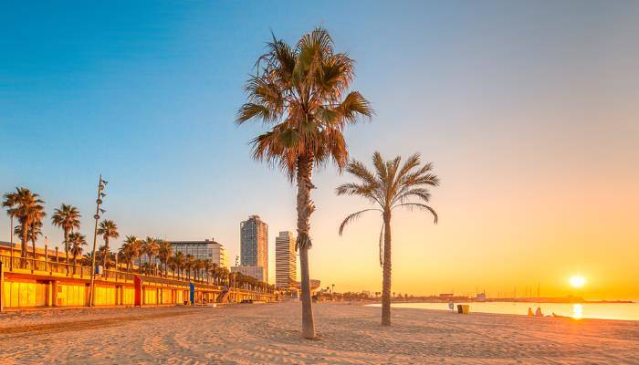 picture of Barceloneta Beach