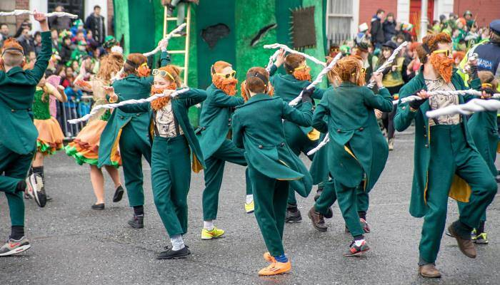 picture of st patrick's day parade