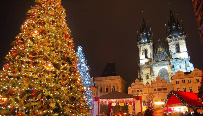 picture of Prague's christmas market